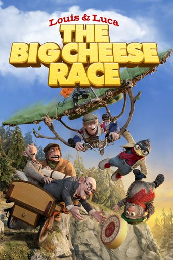 Louis & Luca: The Big Cheese Race Poster
