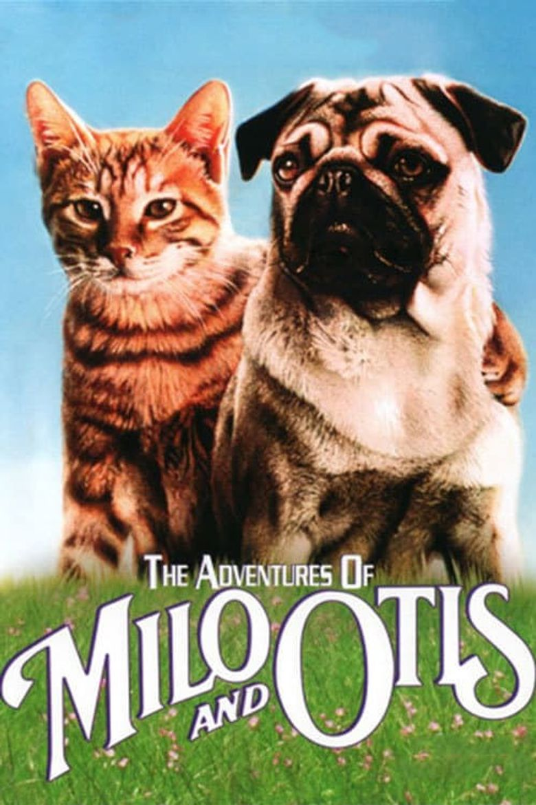 The Adventures of Milo and Otis Poster