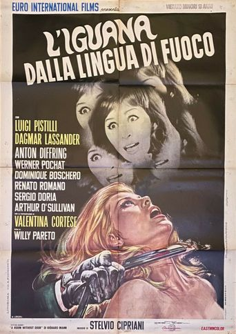 The Iguana with the Tongue of Fire Poster