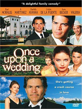 Once Upon a Wedding Poster