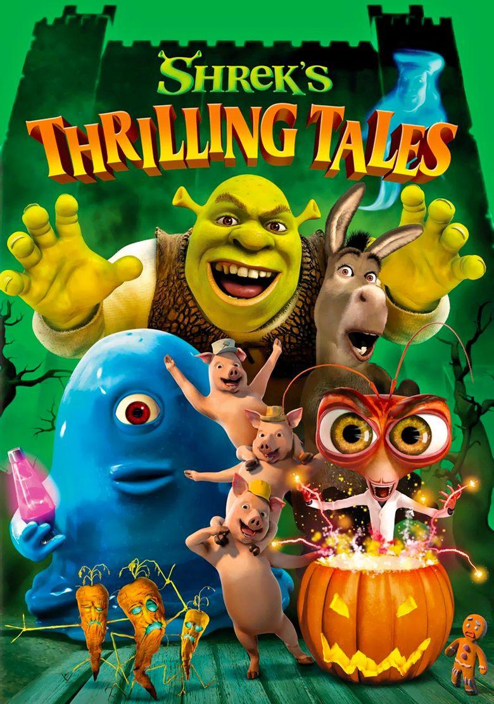 Shrek's Thrilling Tales Poster