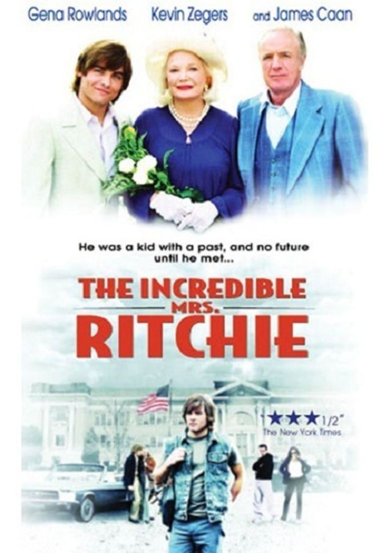 The Incredible Mrs. Ritchie Poster