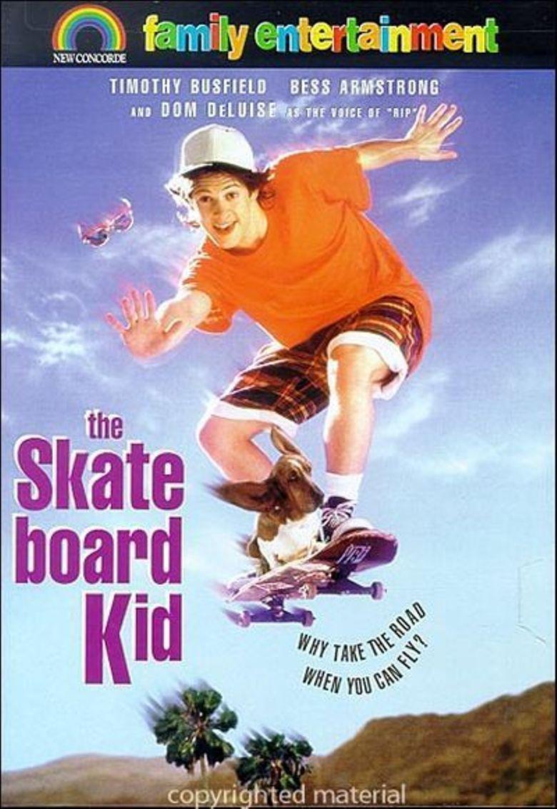 The Skateboard Kid Poster
