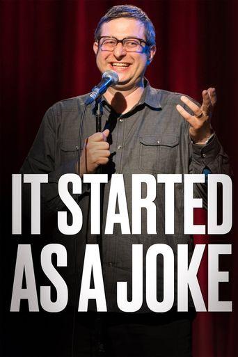 It Started As a Joke Poster