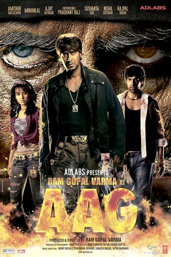 Ram Gopal Varma Ki Aag Poster