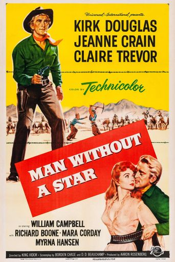 Man Without a Star Poster