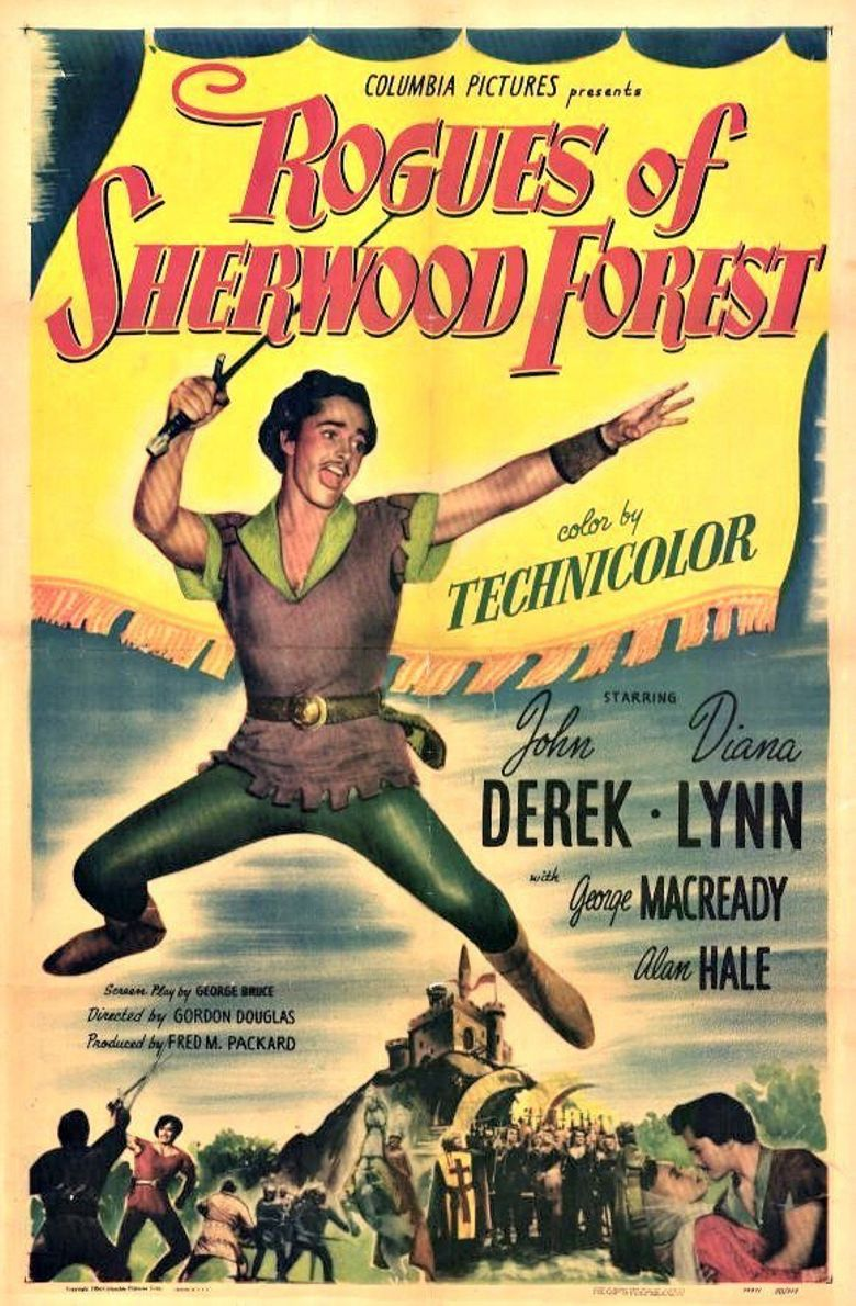 Rogues Of Sherwood Forest Poster