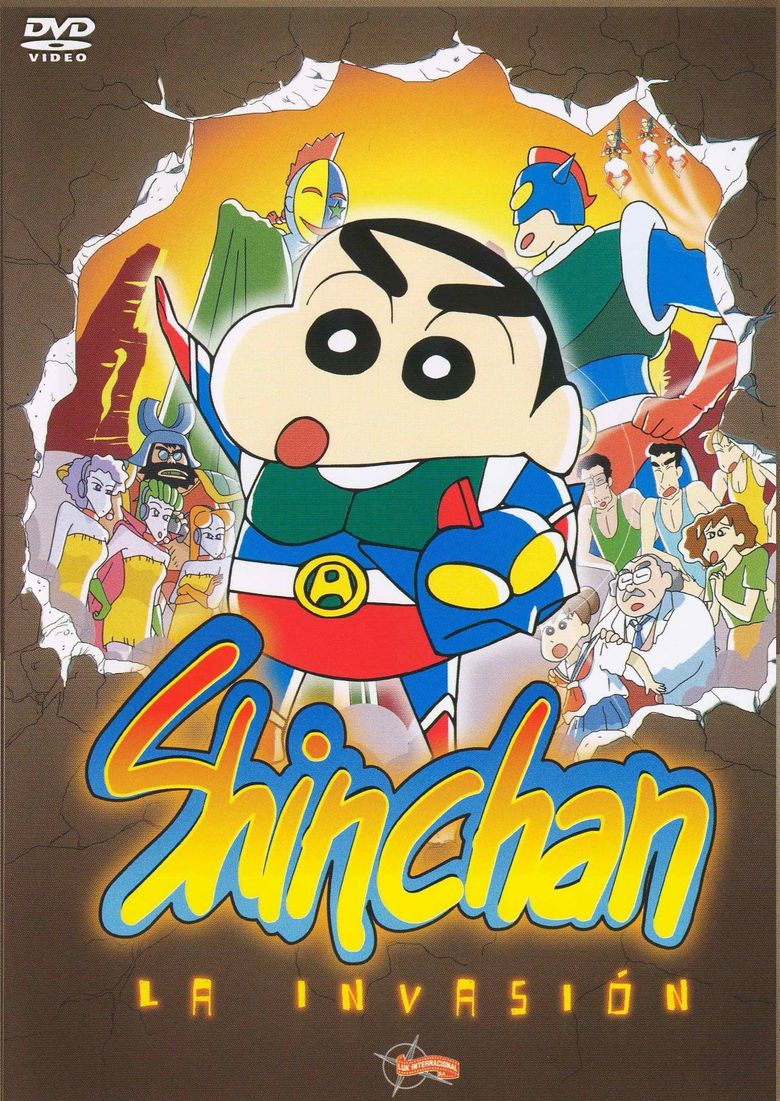 Crayon Shin-chan: Action Kamen vs. Demon Haigure Poster