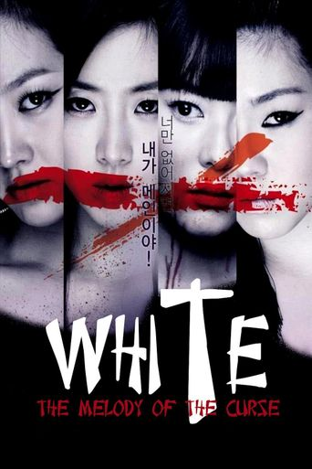 White: The Melody of the Curse Poster