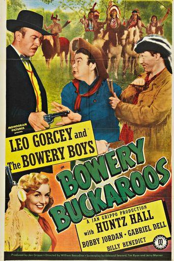 Bowery Buckaroos Poster