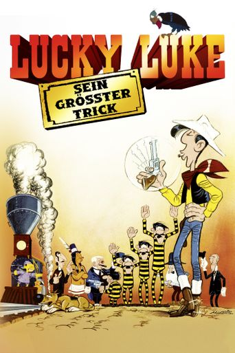 Lucky Luke: The Ballad of the Daltons Poster
