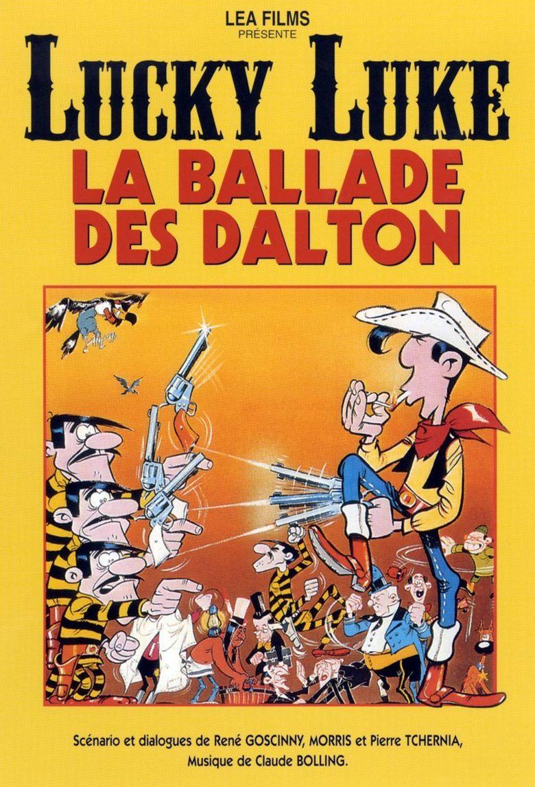 Lucky Luke: The Ballad of the Daltons Poster