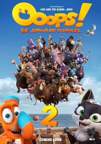 Ooops! The Adventure Continues Poster