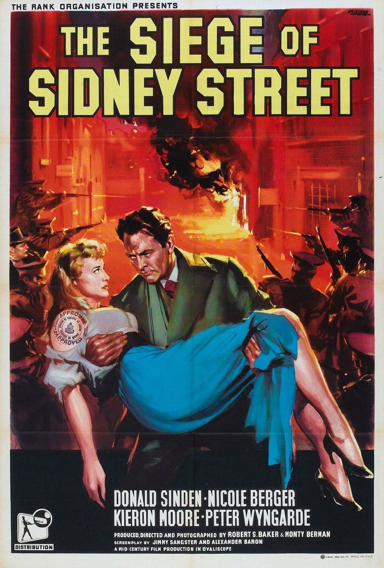 The Siege of Sidney Street Poster