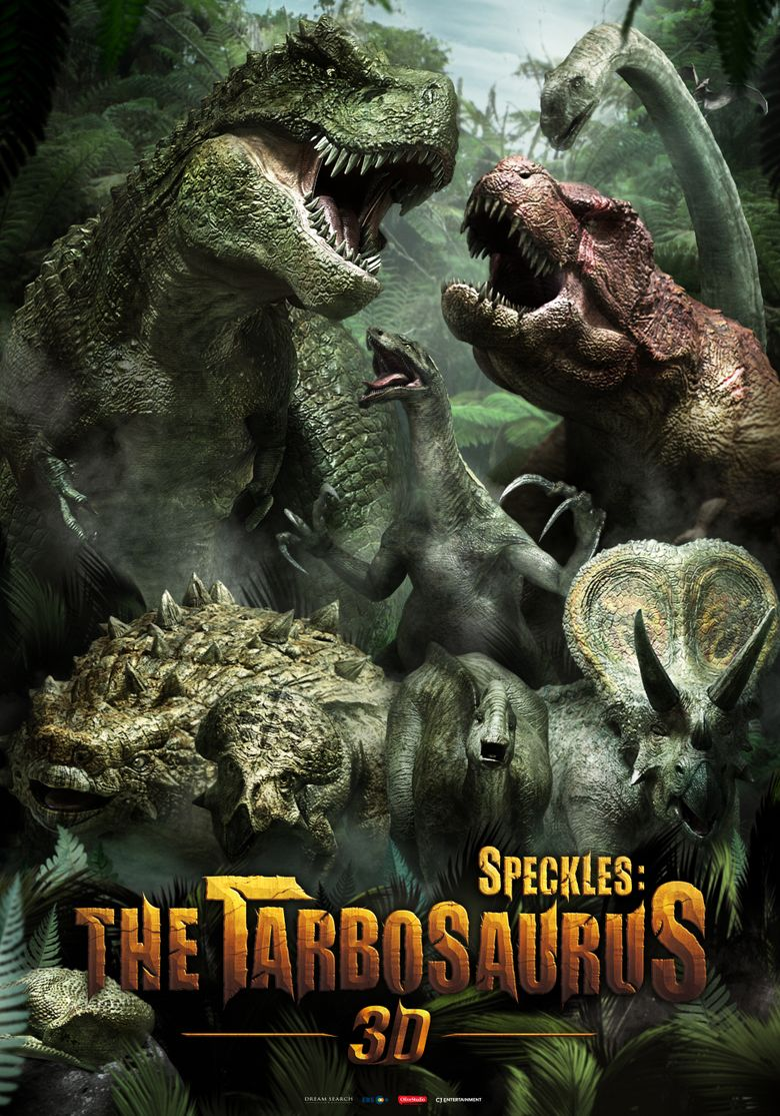 Speckles: The Tarbosaurus Poster