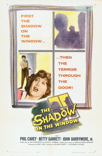 The Shadow on the Window Poster