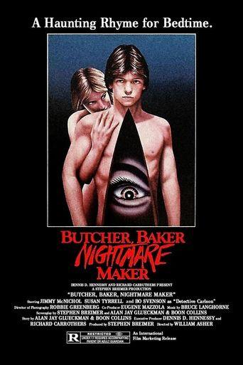 Butcher, Baker, Nightmare Maker Poster