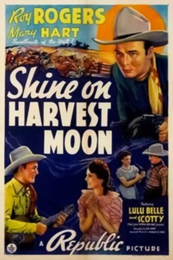 Shine On Harvest Moon Poster
