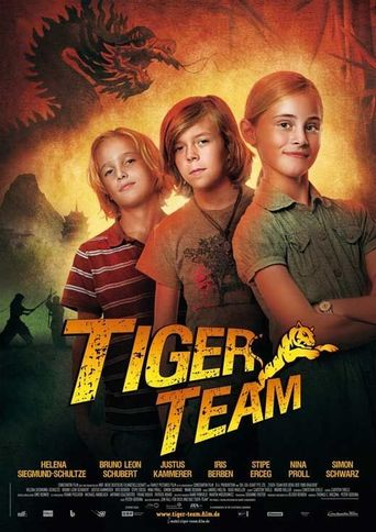 Tiger Team: The Mountain of 1000 Dragons Poster