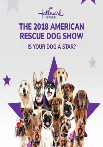 The 2018 American Rescue Dog Show Poster