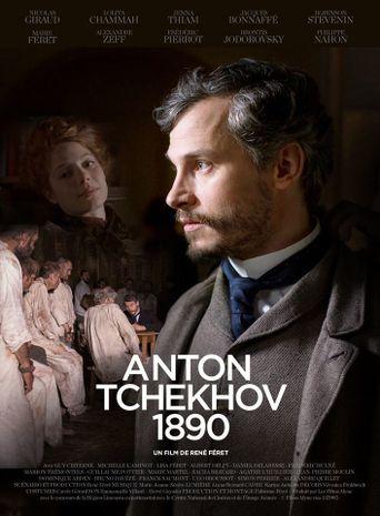 Anton Tchekhov 1890 Poster