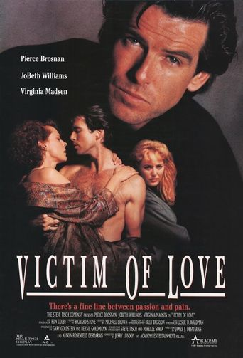 Victim Of Love Poster