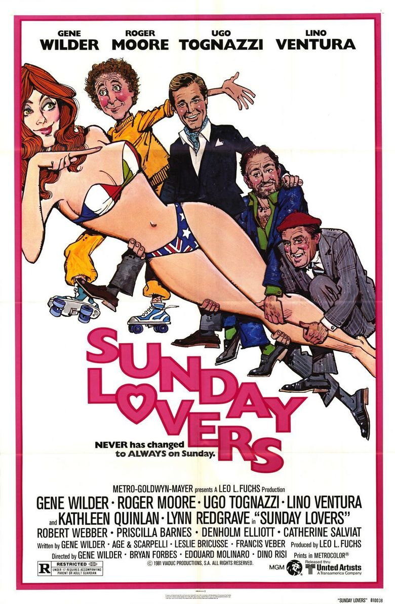 Sunday Lovers Poster