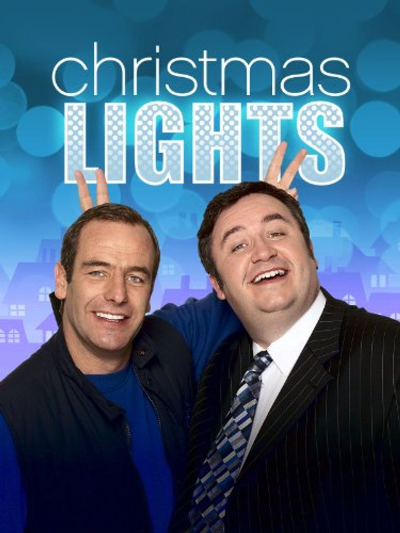 Christmas Lights Poster