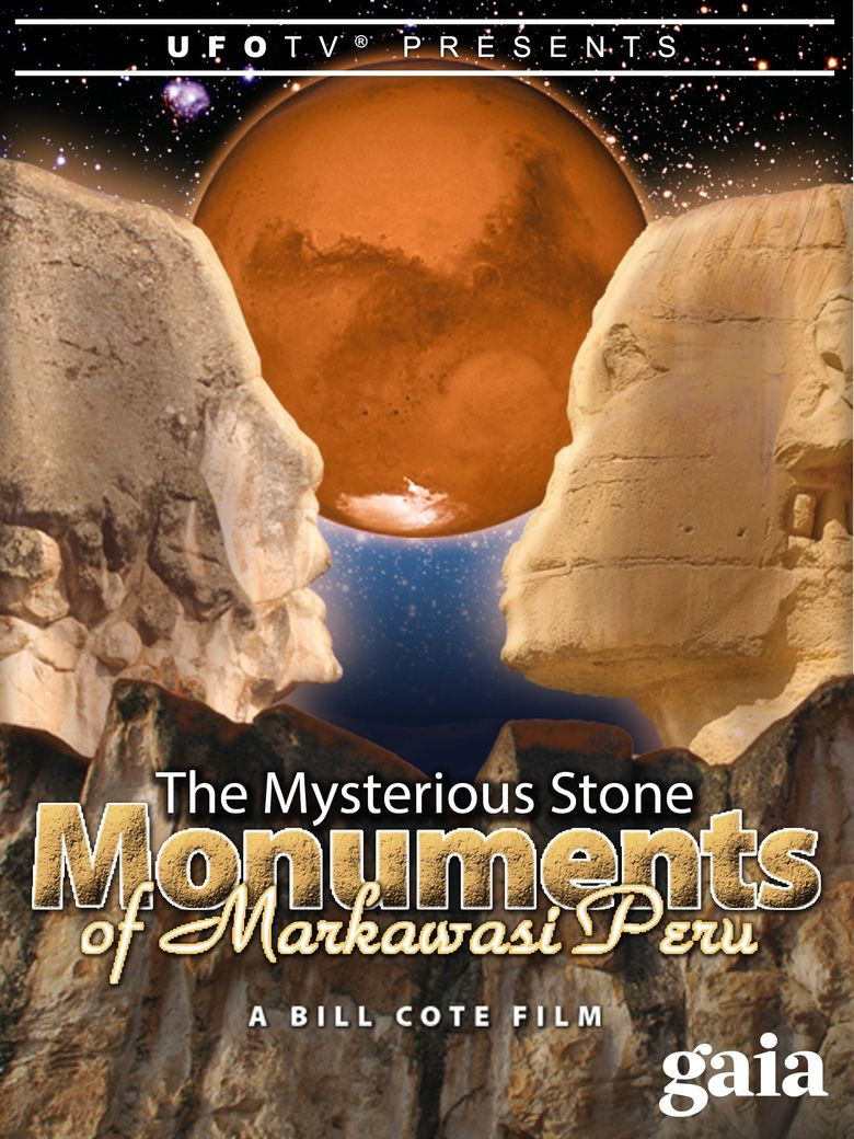 The Mysterious Stone Monuments of Markawasi Peru Poster