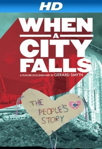 When a City Falls Poster