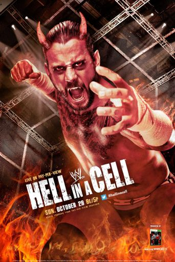 WWE Hell In A Cell 2012 Poster