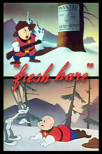 Fresh Hare Poster