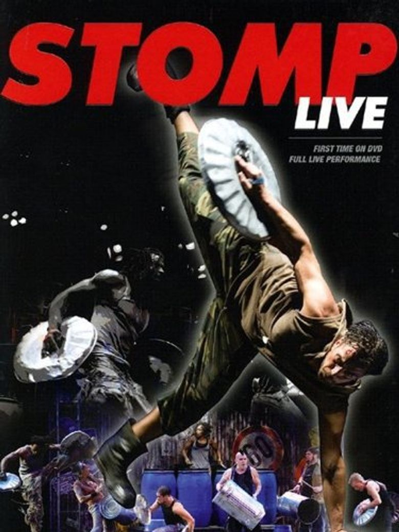 Stomp Live Poster