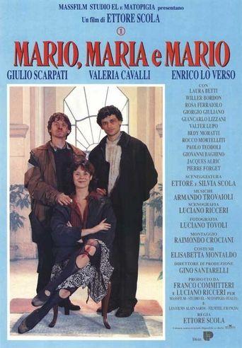 Mario, Maria and Mario Poster