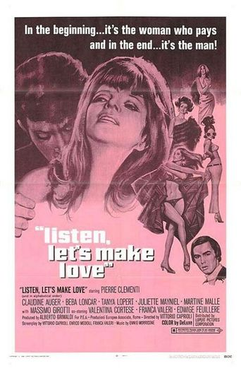 Listen, Let's Make Love Poster