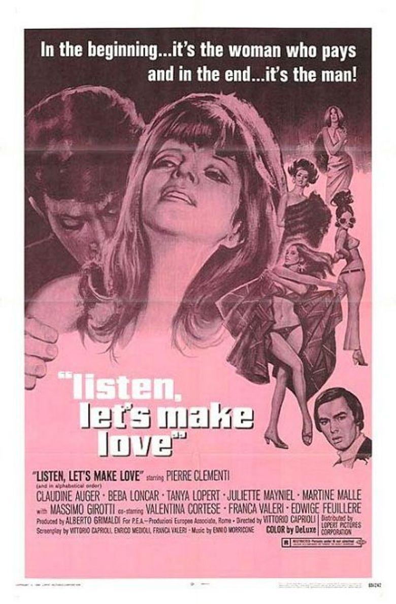 Listen, Let's Make Love Poster