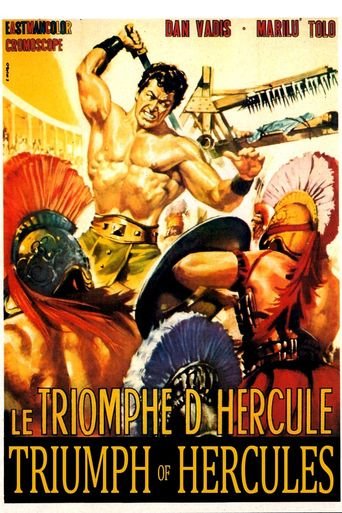 Hercules vs. the Giant Warriors Poster