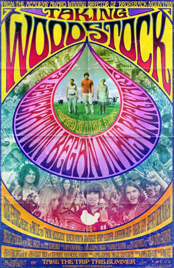 Taking Woodstock Poster