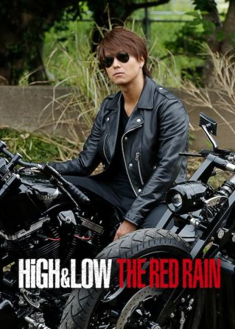 HiGH&LOW: The Red Rain Poster