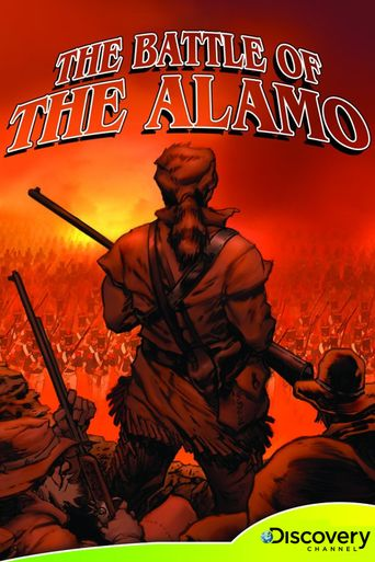 The Battle of The Alamo Poster