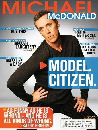 Michael McDonald: Model. Citizen. Poster