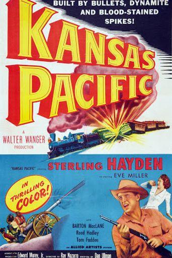 Kansas Pacific Poster