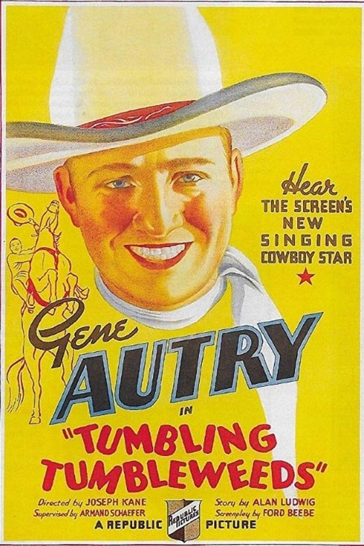Tumbling Tumbleweeds Poster