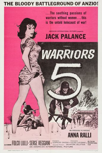 Warriors Five Poster