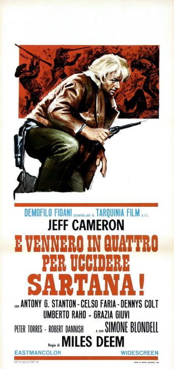 The Four Who Came to Kill Sartana Poster