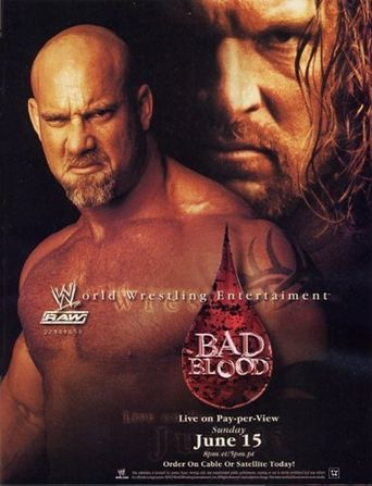 WWE Bad Blood 2003 Poster
