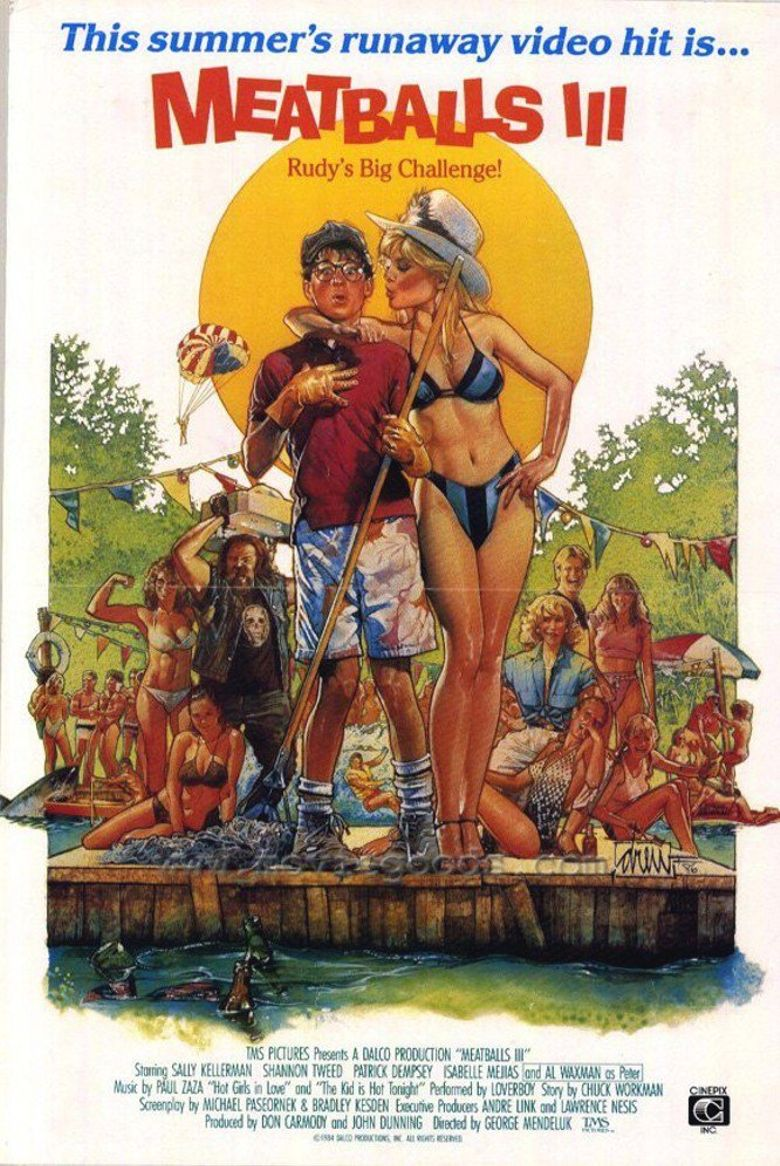 Meatballs III: Summer Job Poster