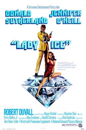 Lady Ice Poster