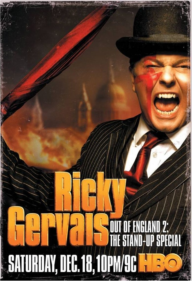 Ricky Gervais: Out of England 2 - The Stand-Up Special Poster