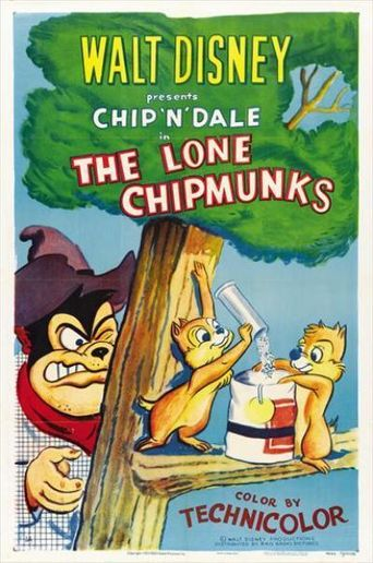 The Lone Chipmunks Poster